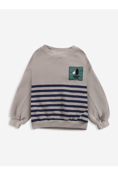 Bobo Choses sweater kids doggie rainy day