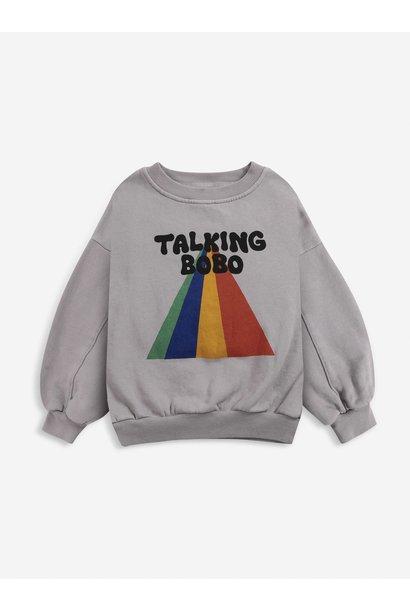 Bobo Choses sweater kids rainbow porpoise