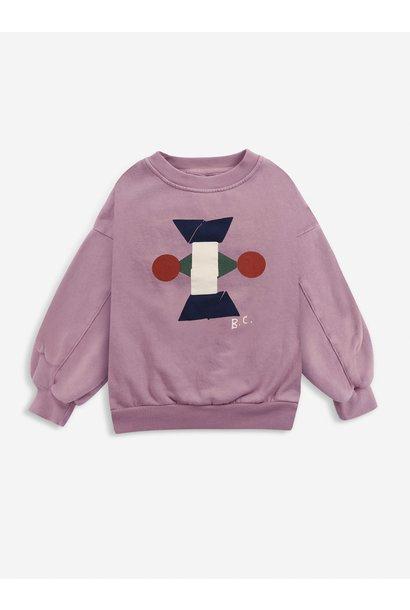 Bobo Choses sweater kids figures mesa rose