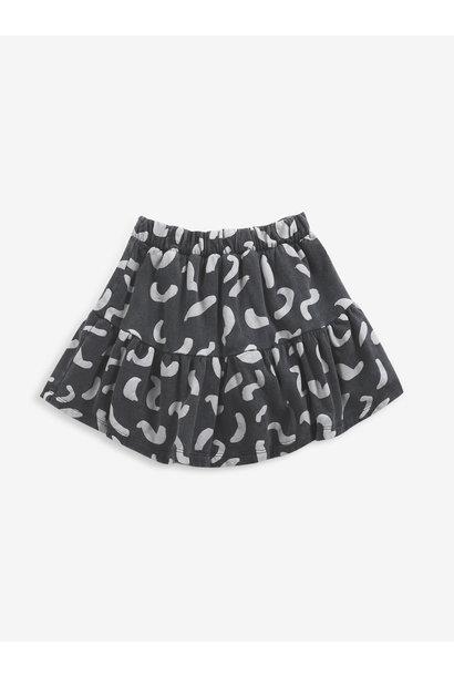 Bobo Choses fleece skirt kids shapes december sky
