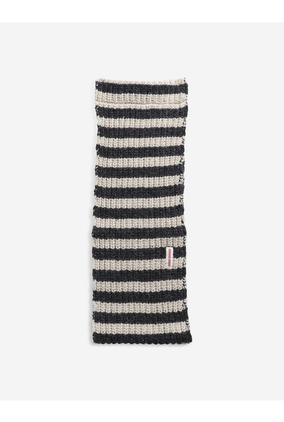 Bobo Choses knitted neck warmer december sky