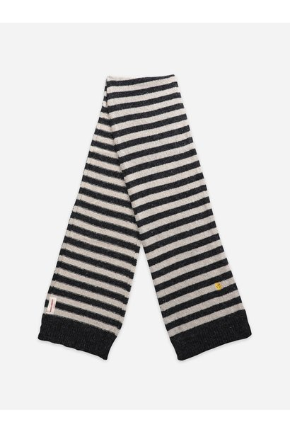 Bobo Choses knitted scarf december sky