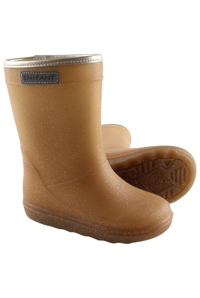 Enfant thermoboots metallic gold