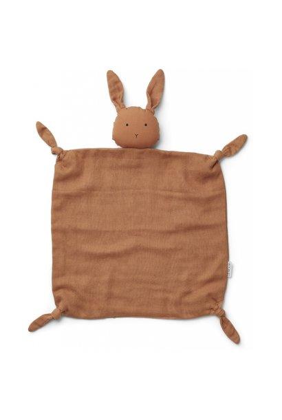 Liewood cuddle cloth agnete rabbit sienna