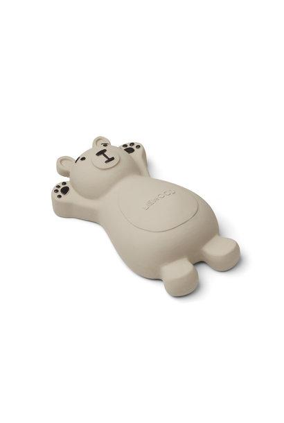 Liewood bath toy knud grey bear