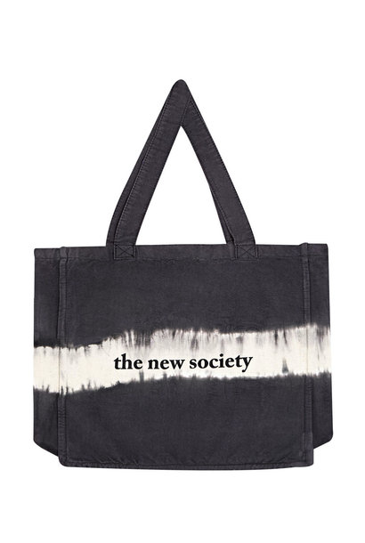 The New Society bag tie dye ash