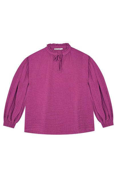 The New Society blouse olivia fuchsia