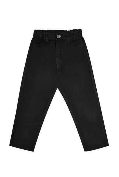 The New Society pants lola black denim