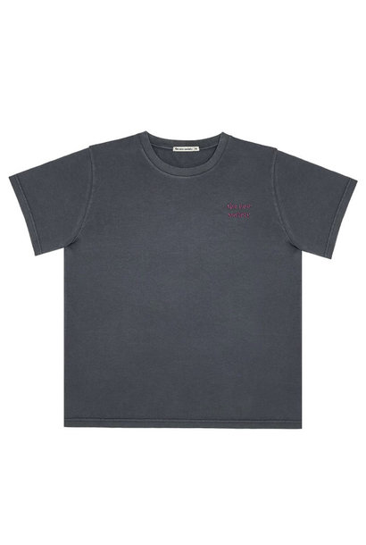 The New Society jersey t-shirt ash