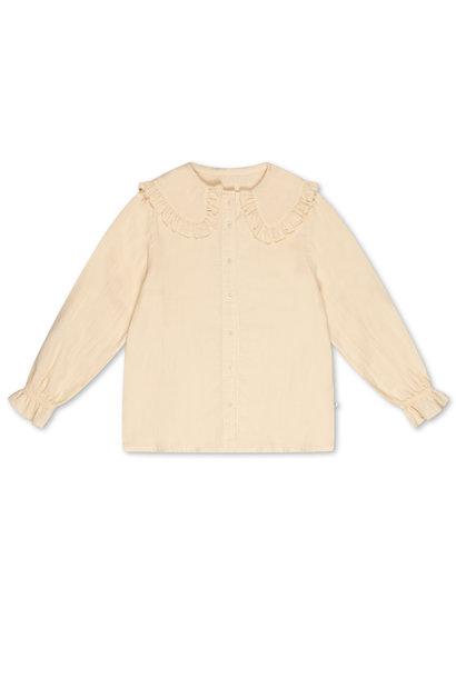 Repose collar blouse milky almond