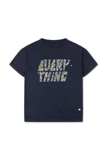 Repose t-shirt dark night blue