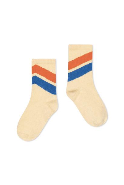 Repose socks almond diagonal