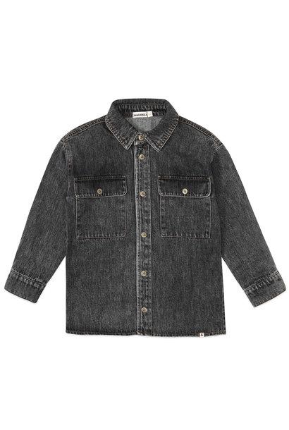 Ammehoela blouse bill black washed