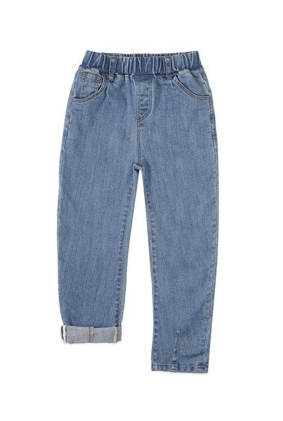 Ammehoela pants harley denim blue washed