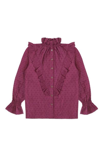 Ammehoela blouse mia raspberry