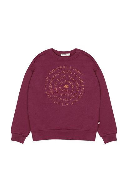 Ammehoela sweater rocky raspberry