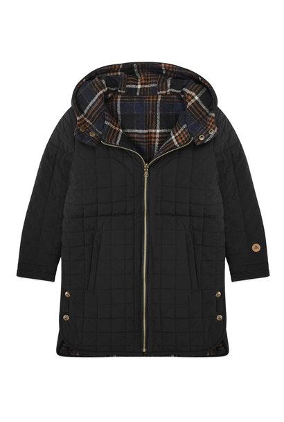 Ammehoela jacket zeke black check