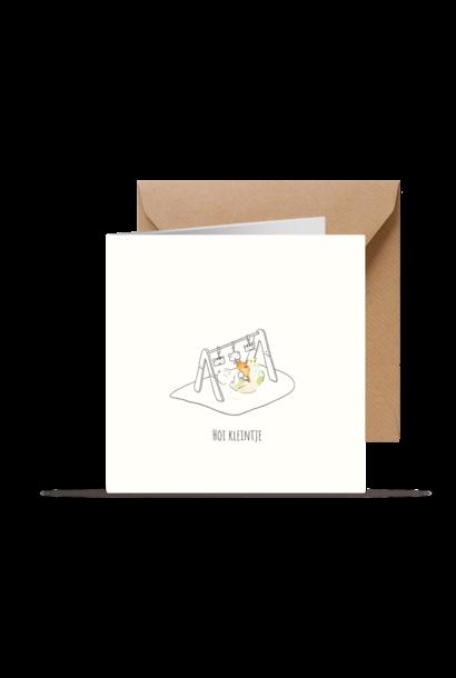 Kleintjesgeluk kaart bas & janne hoi kleintje