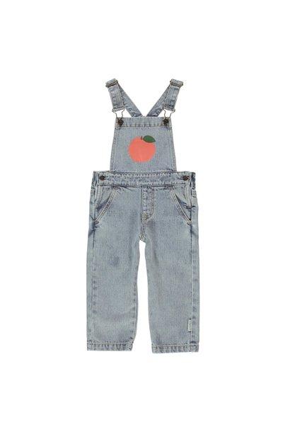 Piupiuchick jumpsuit washed light blue peach