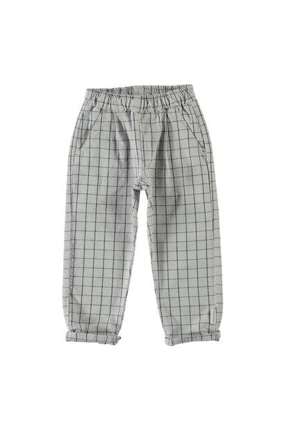 Piupiuchick trouser checkered light grey