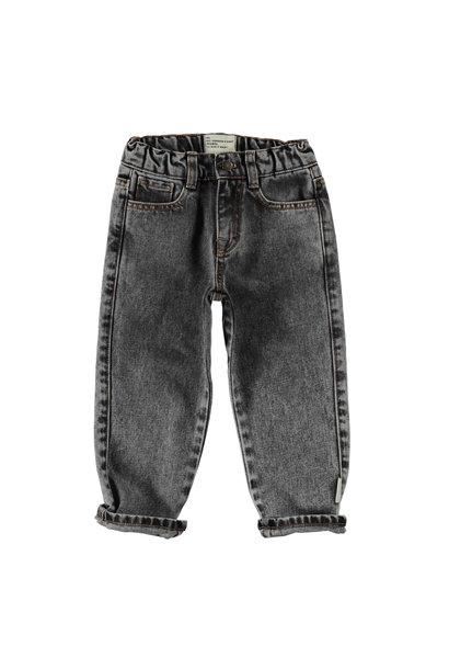 Piupiuchick trouser washed black denim