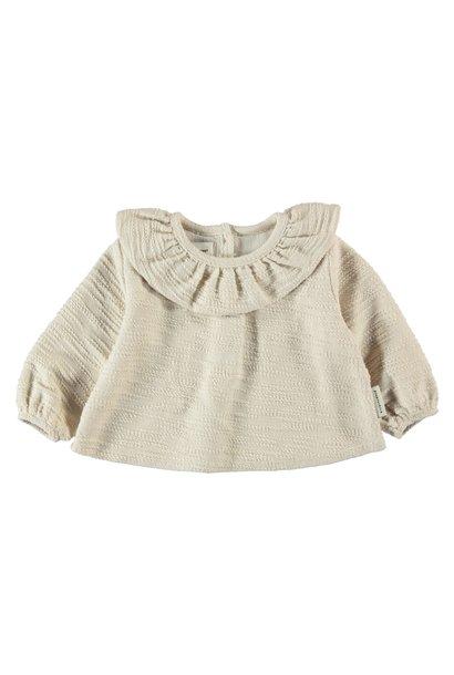 Piupiuchick blouse jersey ecru
