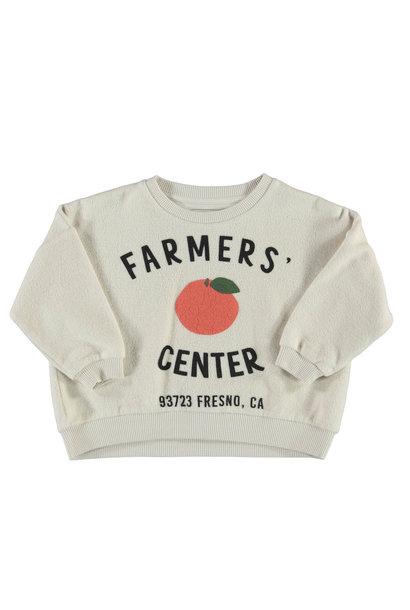 Piupiuchick sweater farmers center ecru