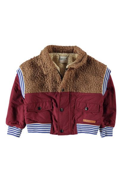 Piupiuchick jacket rib brick & brown