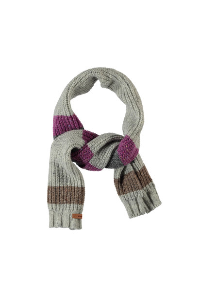 Piupiuchick scarf light grey