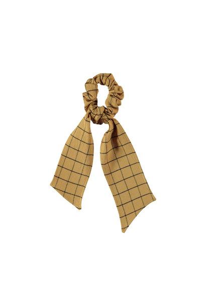 Piupiuchick scrunchie with tails camel