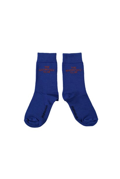 Piupiuchick socks high the breakfast club indigo
