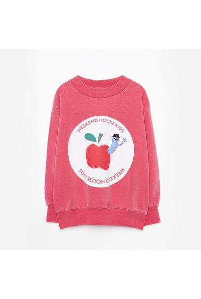 Weekend House Kids sweater apple red