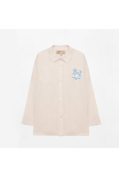 Weekend House Kids blouse cat sand