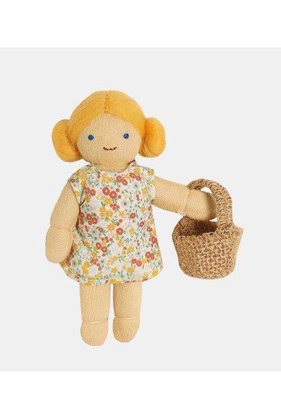 Olli Ella doll holdie folk farmer poppy