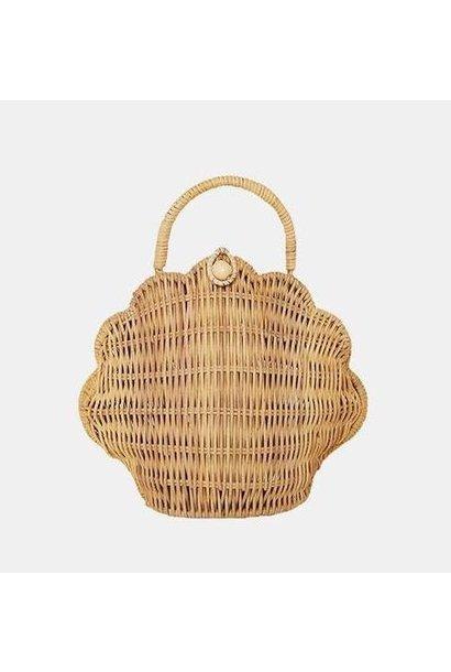 Olli Ella rattan bag shell straw
