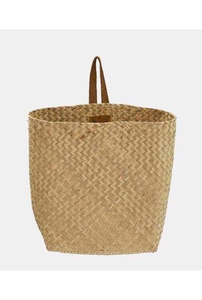 Olli Ella seagrass hanging book basket