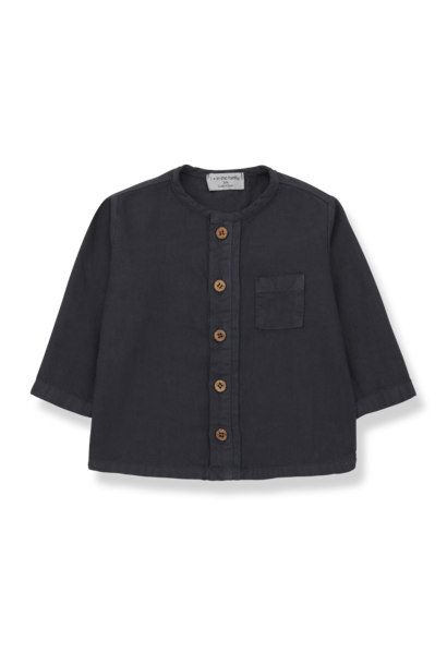 1+ in the family blouse custo charcoal