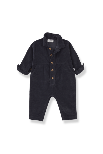1+ in the family jumpsuit gaia charcoal