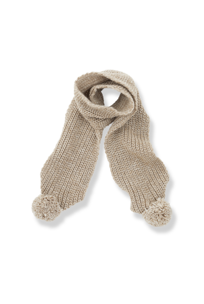 1+ in the family scarf clyde beige