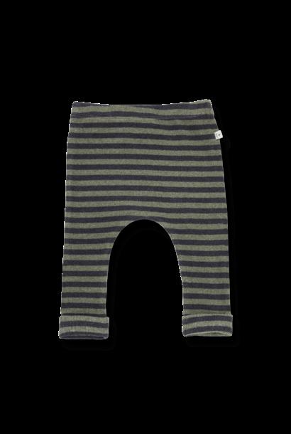 1+ in the family legging norah olive striped