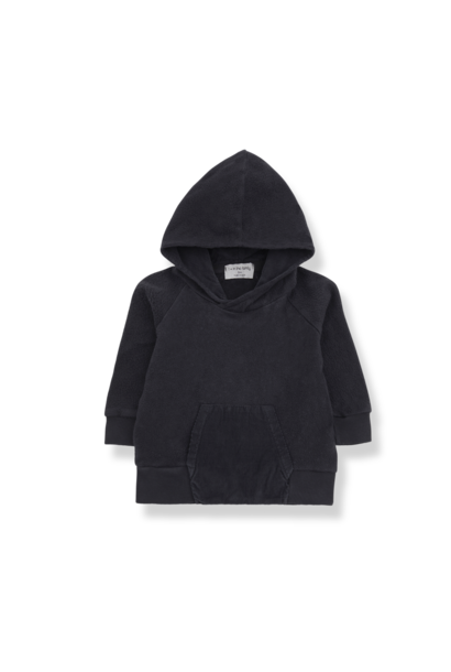1+ in the family hoodie hellina charcoal