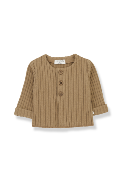1+ in the family cardigan violette brandy