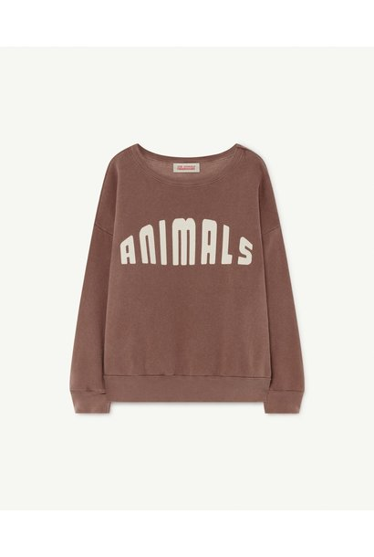 The Animals Observatory sweater big bear brown
