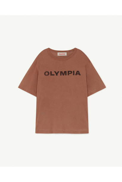 The Animals Observatory oversized t-shirt brown olympia