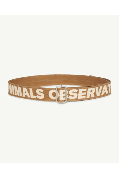The Animals Observatory belt lizard brown
