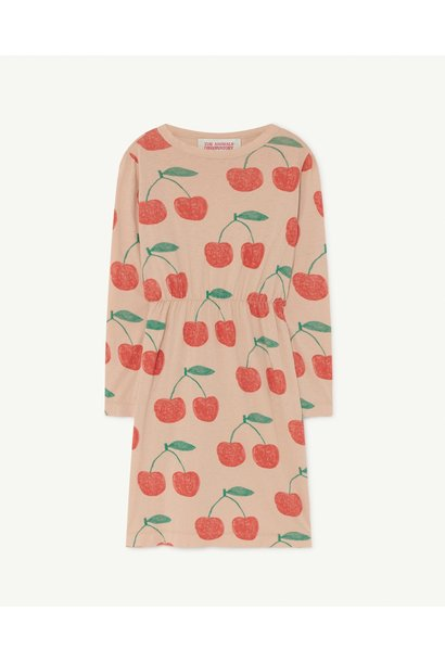The Animals Observatory dress crab pink cherries