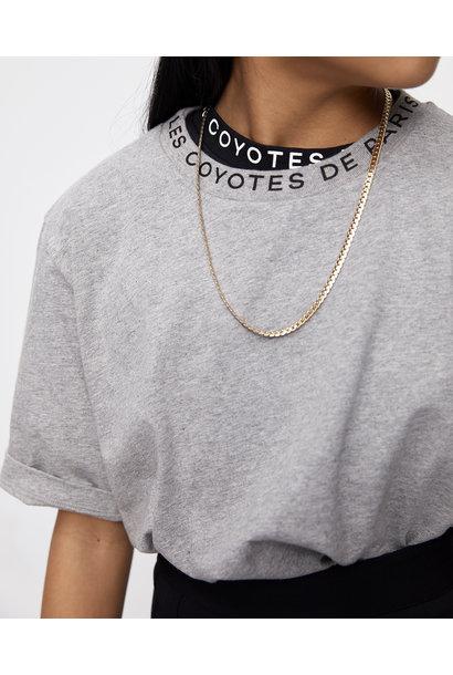 Les Coyotes de paris t-shirt danica grey melange