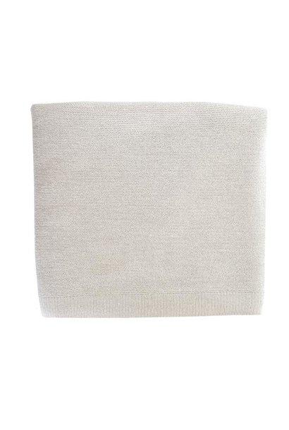 hvid blanket eliz off-white