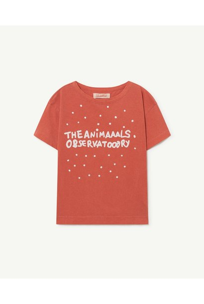 The Animals Observatory t-shirt red olympics