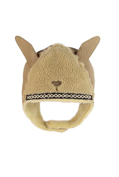 Donsje beanie kapi exclusive lining - alpaca beige faux fur
